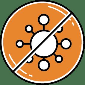 Antibakterielle Kompressionsbandage
