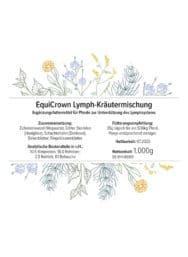 EquiCrown Lymph-Kräutermischung